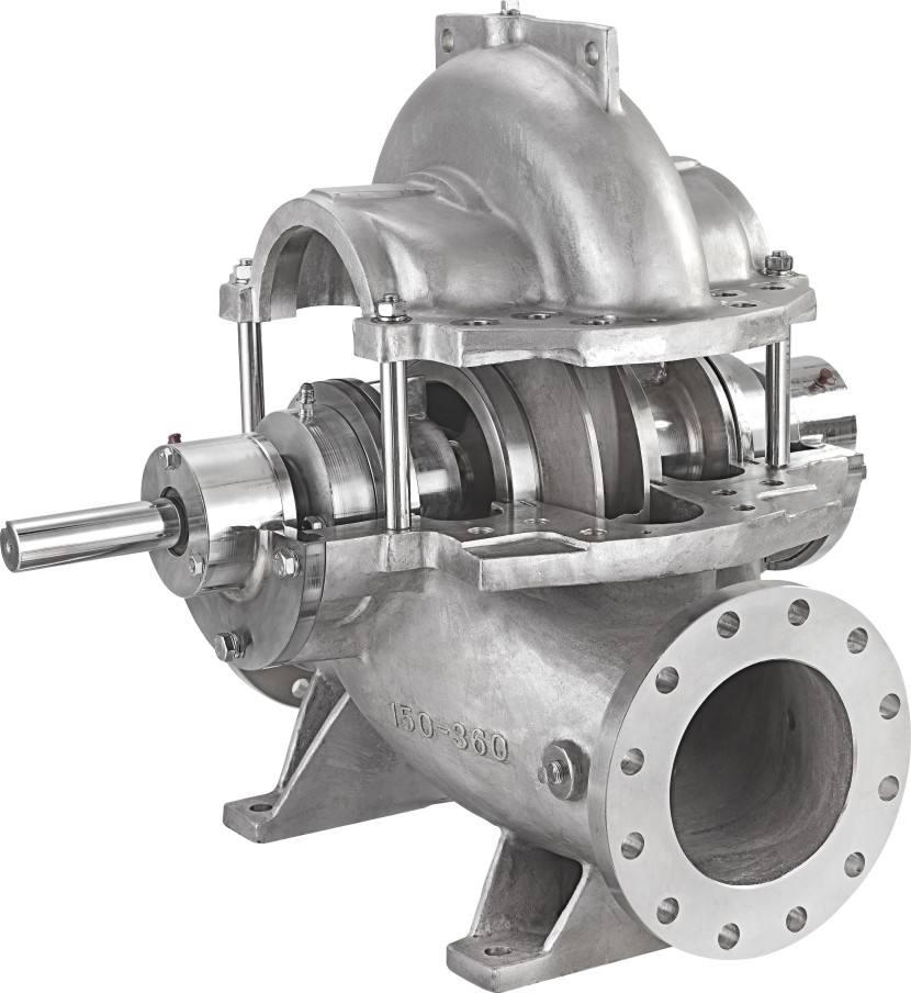 双吸泵壳铸件