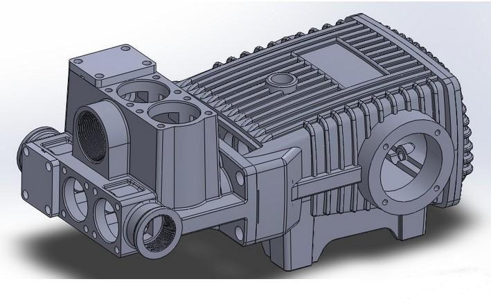 柱塞泵泵壳