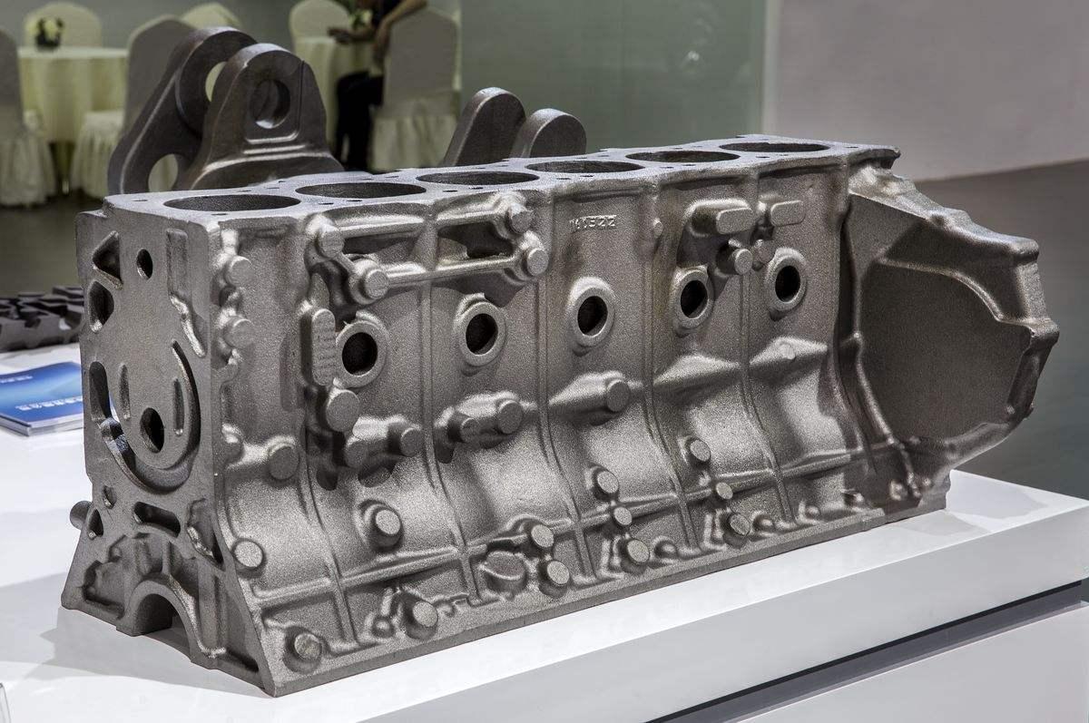 柴油机缸体铸件