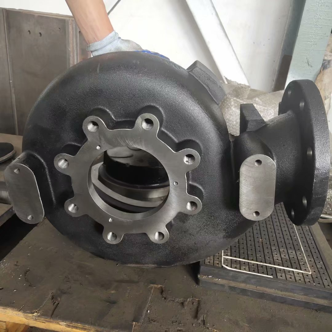 非标球铁600-3铸灰铁水泵壳